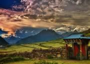 川藏线上这个绝美村落