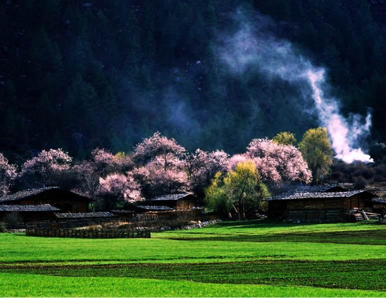 川藏线上的那些小村镇,总有值得你去的!