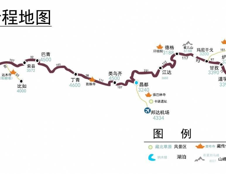 318川藏南线和317川藏北线有什么区别?