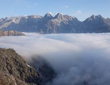 彭州龙门山旅游攻略,龙门山自驾游攻略路况,龙门山门票交通天气景点介绍