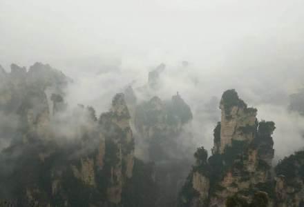 走进湖南湘西张家界,仿佛进入梦幻世界,实在是太美了,云雾缭绕