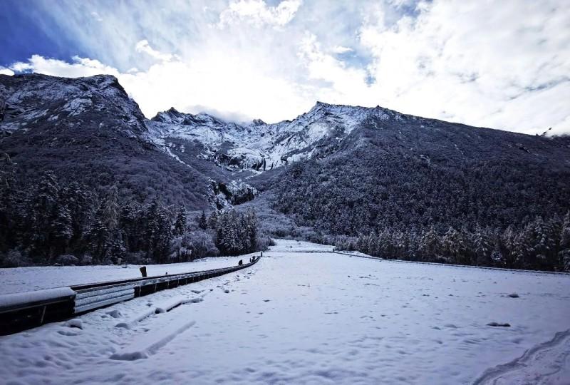 元旦去毕棚沟旅游能看到雪