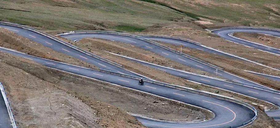 世界之巅的景观大道--珠峰公路